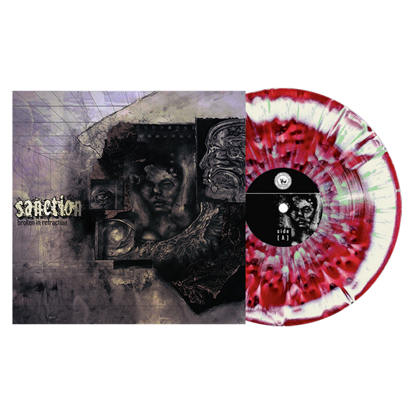 Broken In Refraction (Deep Purple / Bone Aside/Bside w/ heavy Doublemint & Black Splatter) // PREORDER