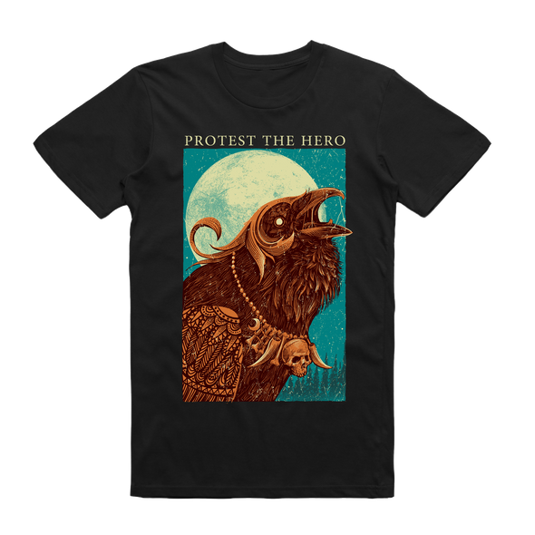 Protest The Hero Official Merch - Mythical Crow Tee (Black)