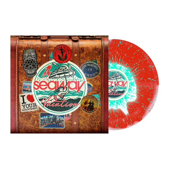 "Vacation 12"" Vinyl (White/Red w/ Double Mint Heavy Splatter)"