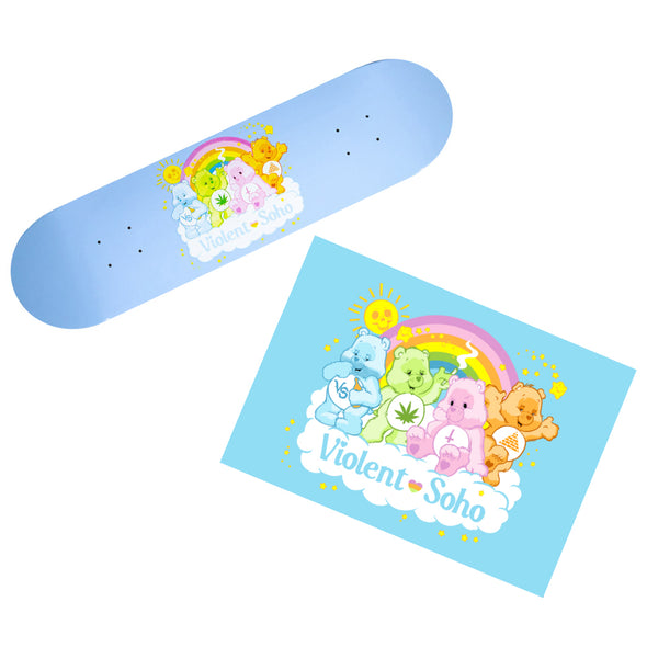 Care Bears Skate Deck + A2 poster