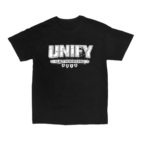 UNIFY 2019 Big Front Lineup Tee (Black)