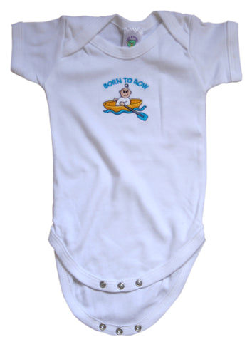 Born To Row Baby Vest