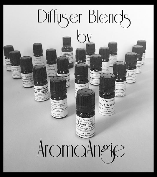 Ann's Special Aromatherapy Diffuser Blend (5ml,10ml) - L's Naturals-  Bath, Body & Home Products