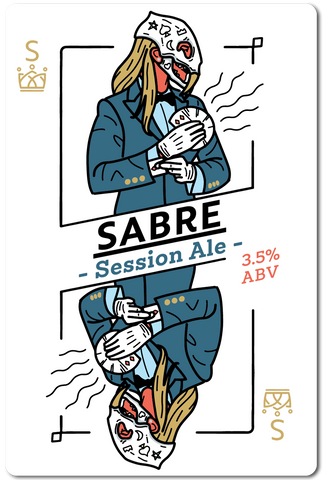 All in Brewing FWK  - Sabre - Session Ale