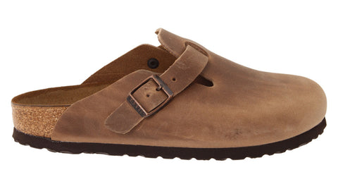 Birkenstock Boston Tabacco Brown Oiled Leather