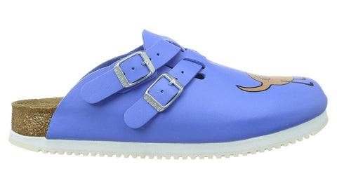 Birkenstock Kay Blue Dog Buster Super Grip