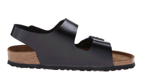 Birkenstock Milano Black - Sole Central