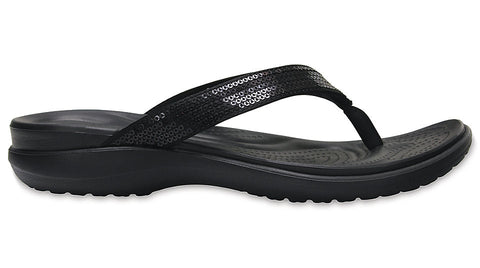 Crocs Capri V Sequin Black