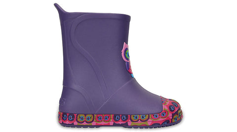 Crocs Kids BumpIT Graphic Boot Blue Violet