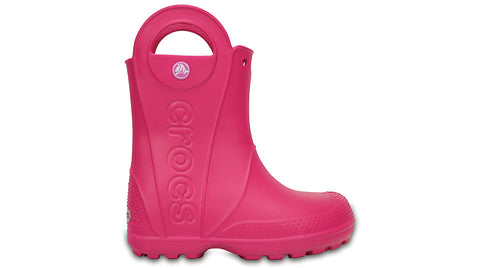 Crocs Kids Handle It Rain Boot Candy Pink
