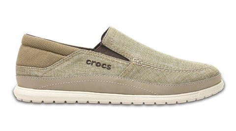 Crocs Santa Cruz Playa Slip-On Khaki Stucco
