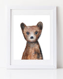 Canadian Bear Cub Nursery Art Print by Canadian Artist Liz Clay