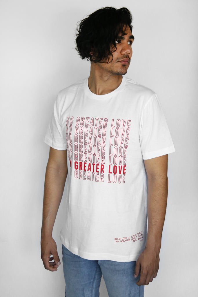 "Bold Love X Justin Great ""No Greater Love"" T-Shirt"