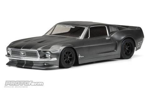 1968 FORD® MUSTANG CLEAR BODY FOR VTA CLASS