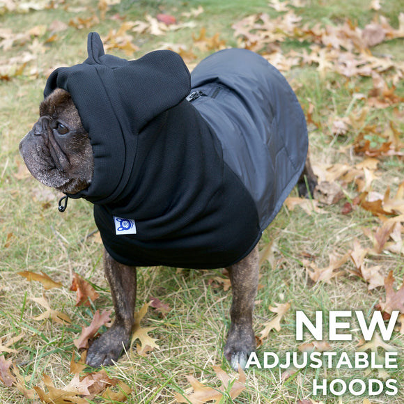 (Adjustable Hood) BatHat Raincoat with Dri-Belly Technology