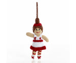 pebble knitted ballerina christmas dec