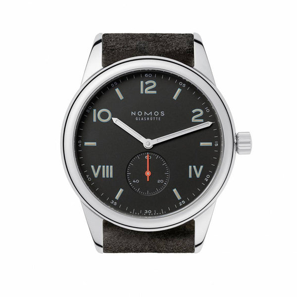 Nomos Club Campus 38 Night Stainless Steel Ref. 736
