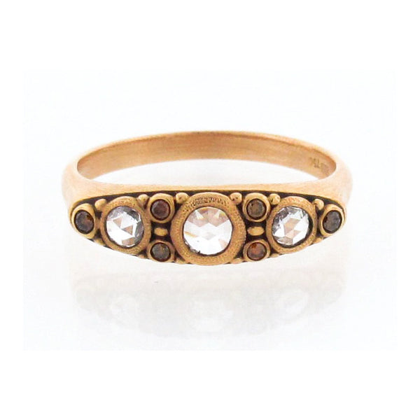 Alex Sepkus 18K Rose Gold and Diamond