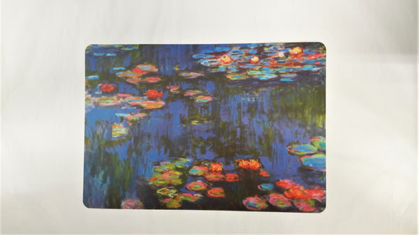 WATER LILES -NNYMPHEAS 1916 - CLAUDE MONET PLACEMAT