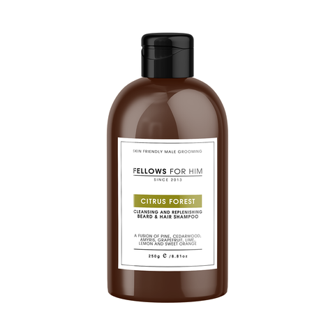 Beard & Hair Shampoo - Citrus Forest 250g
