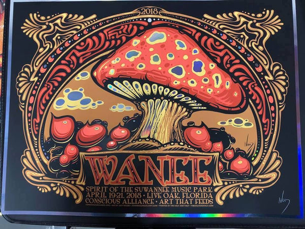 2018 Wanee Festival Conscious Alliance Poster