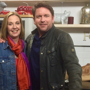 Fiona Houston introduces James Martin 'everything you want to know about seaweed'.