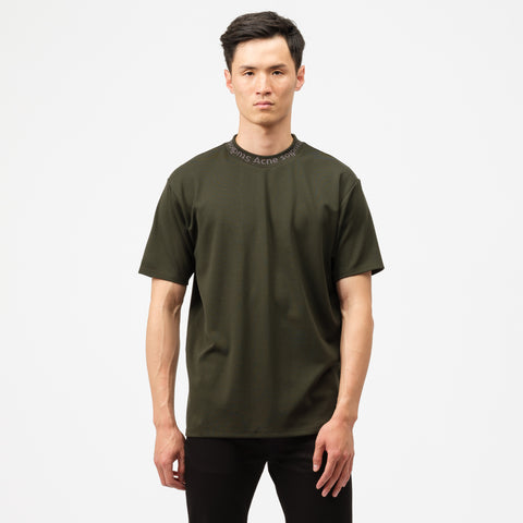 Acne Studios Navid T-Shirt in Deep Green - Notre
