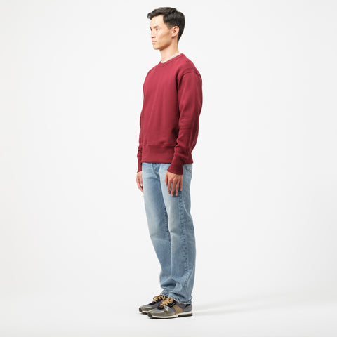 Acne Studios Fayze Sweatshirt in Rosewood Red - Notre