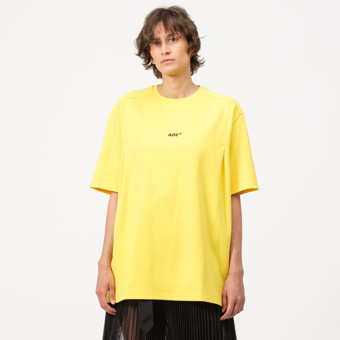 Adererror Ade T-Shirt in Yellow - Notre