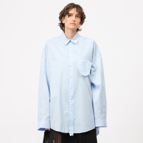 Adererror Unstable Shirt in Sky Blue - Notre
