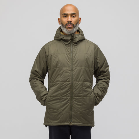 Junya Watanabe x Karrimor Hooded Jacket in Olive Green - Notre