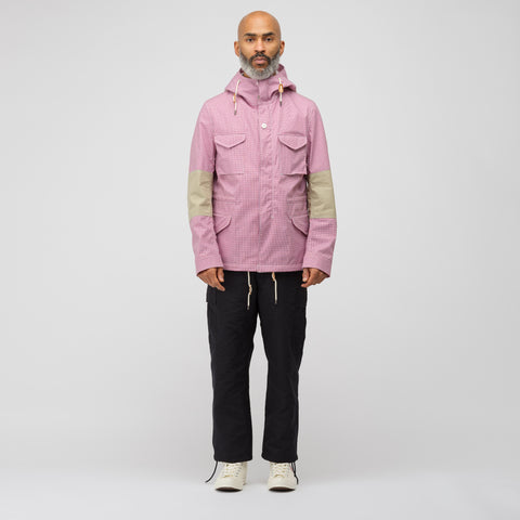 Junya Watanabe Utility Jacket in Red/White Check - Notre