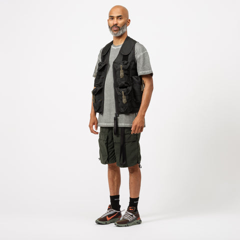 Nemen Bombing Vest in Ink Black - Notre