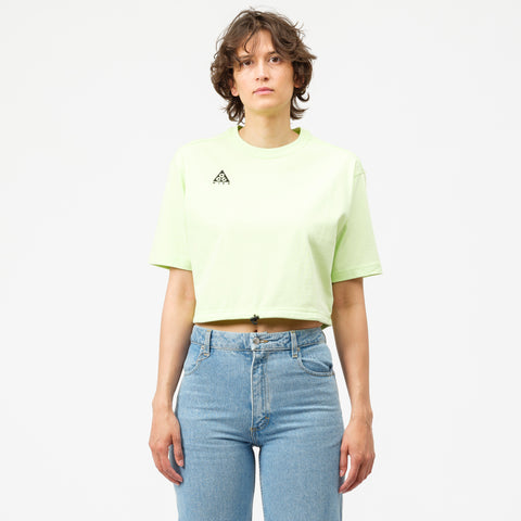 Nike ACG Short Sleeve Top in Barely Volt - Notre