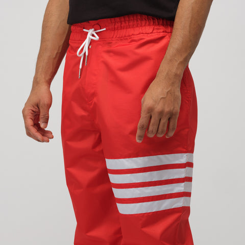 Thom Browne Relaxed Fit Track Pant in Red - Notre