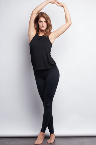 Black Contour Legging - Plus Size - Haven Collective