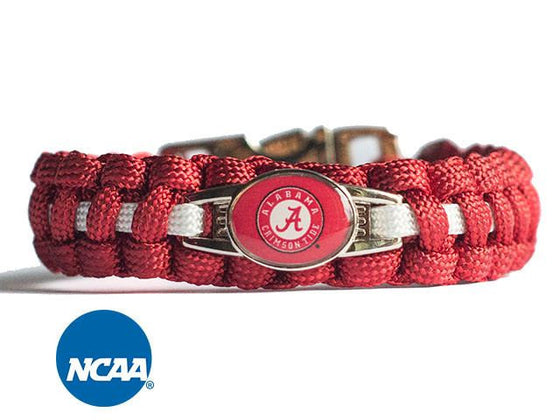 Officially Licensed  Alabama Crimson Tide Paracord Bracelet