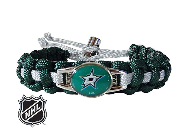 Officially Licensed NHL Dallas Stars Paracord Bracelet