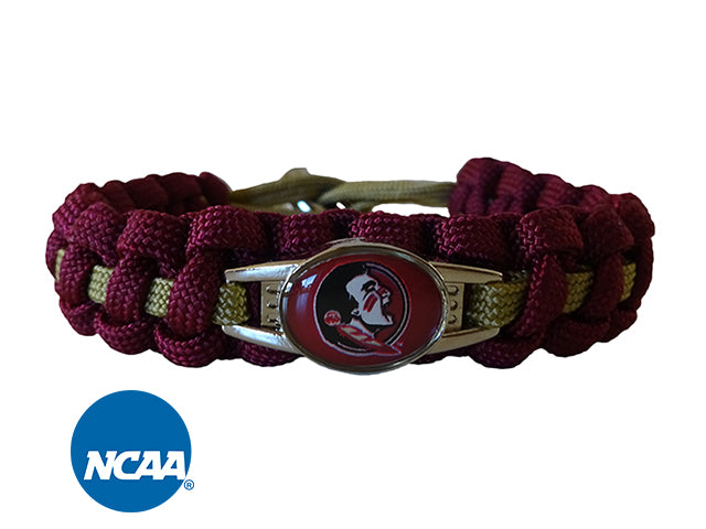 Officially Licensed  Florida State Seminoles Paracord Bracelet