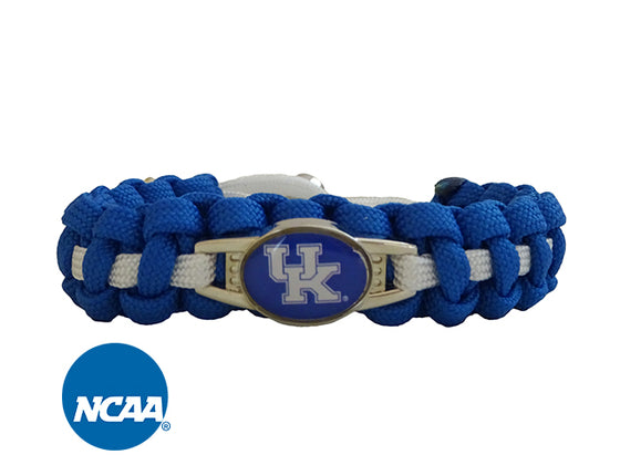 Officially Licensed University of Kentucky Wildcats Paracord Bracelet