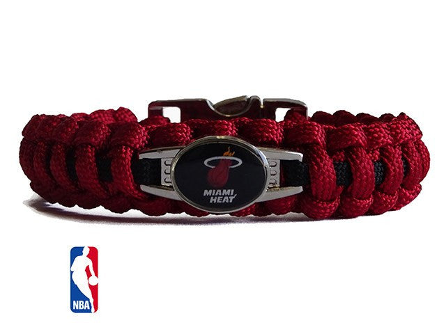 Officially Licensed NBA Miami Heat Paracord Bracelet