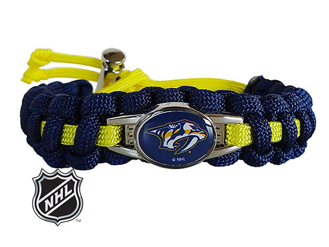 Officially Licensed NHL Nashville Predators Paracord Bracelet