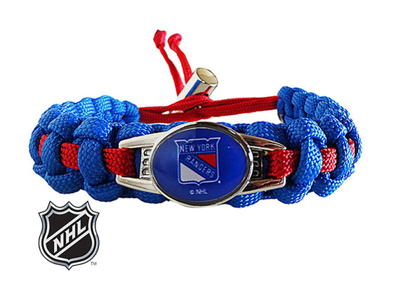 Officially Licensed NHL New York Rangers Paracord Bracelet