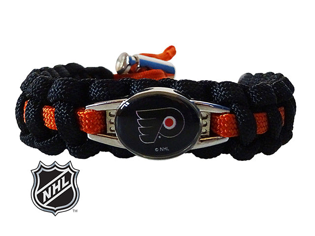 Officially Licensed NHL Philadelphia Flyers Paracord Bracelet