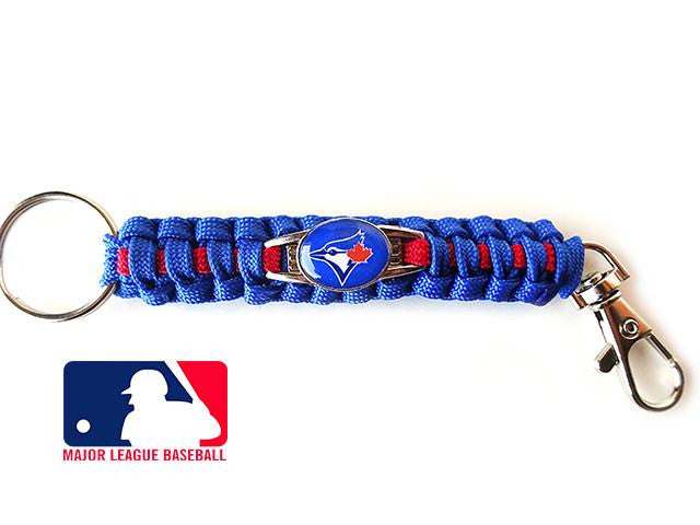 Officially Licensed MLB Toronto Blue Jays Paracord Keychain