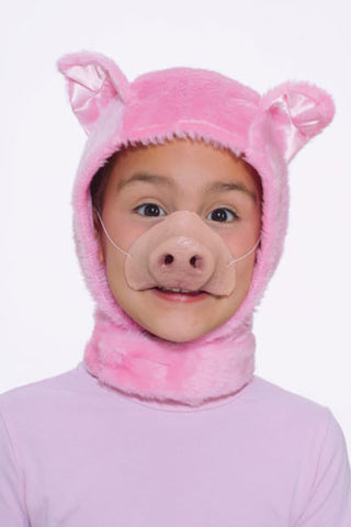 Pig Hood and Nose Set