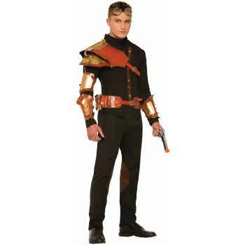 Steampunk Shoulder Armor, Male
