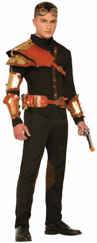 Steampunk Male  Armor Wrist Bands