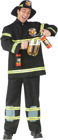 Fill 'er Up Fire Fighter Adult Plus Costume