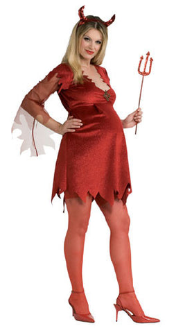 Mommy-to-be Devil Lady Costume